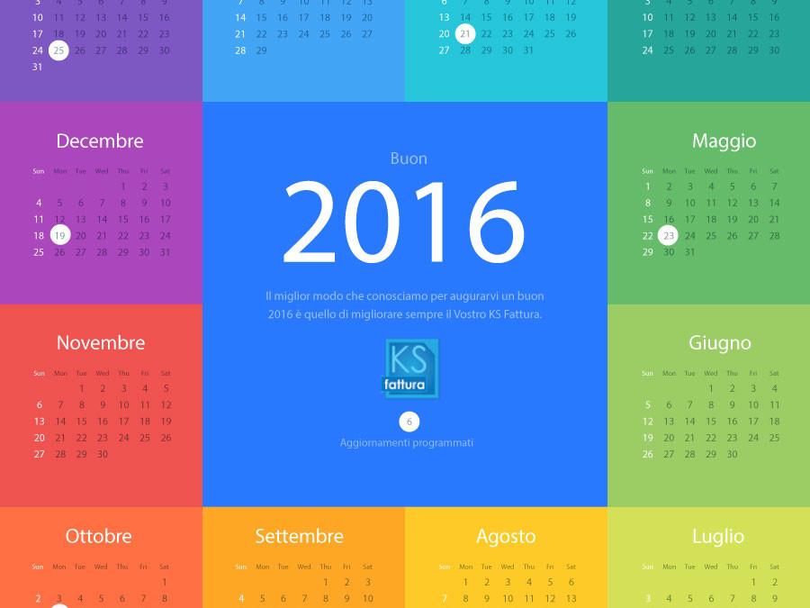 Aggiornamento KS Fattura 5.5.4 … Buon 2016 da KSG