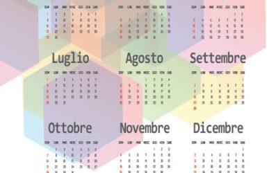 Calendario KS Fattura 2018